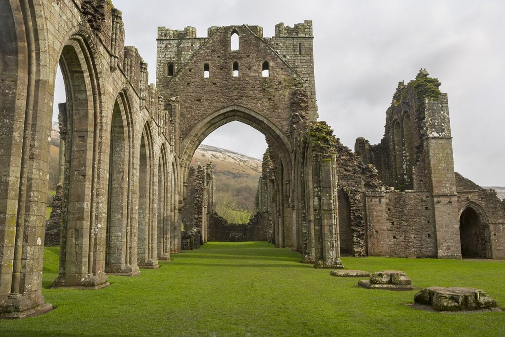 Llanthony Priory, South Wales