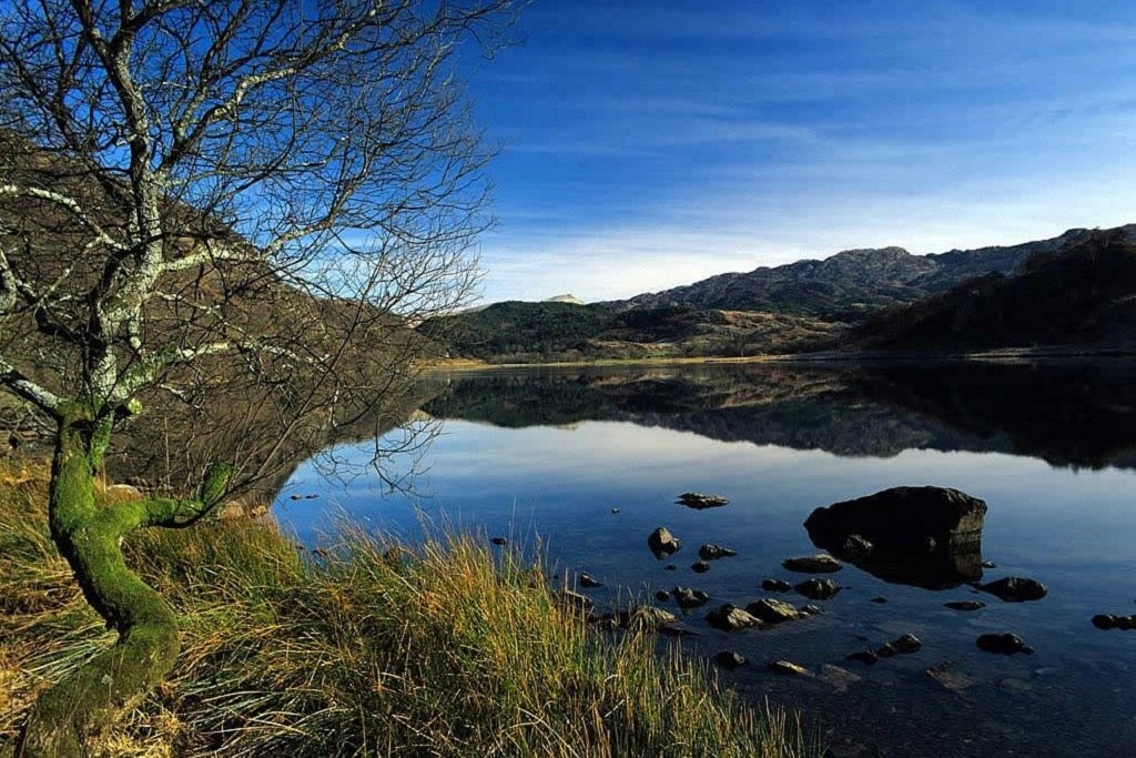 Llyn Dinas Snowdonia Wales