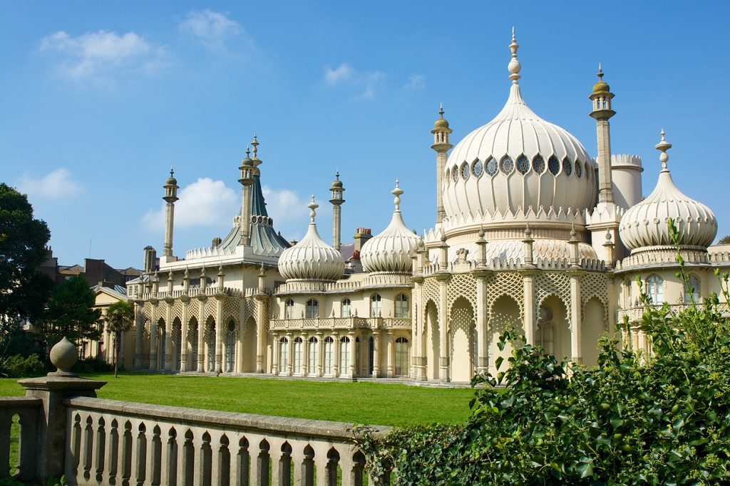 The Royal Pavilion at Brighton, East Sussex, England