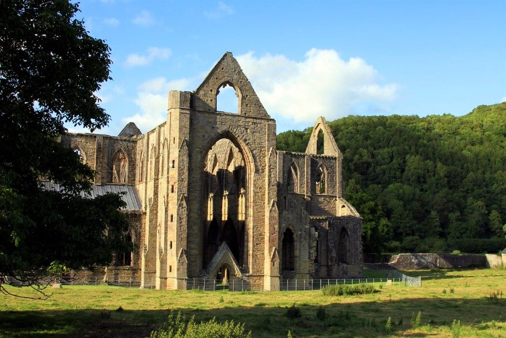 Tintern Abbey, most beautiful places in UK