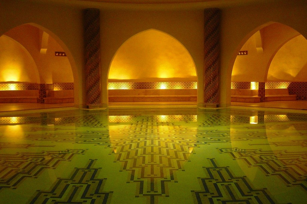 Hassan II Mosque Hammam