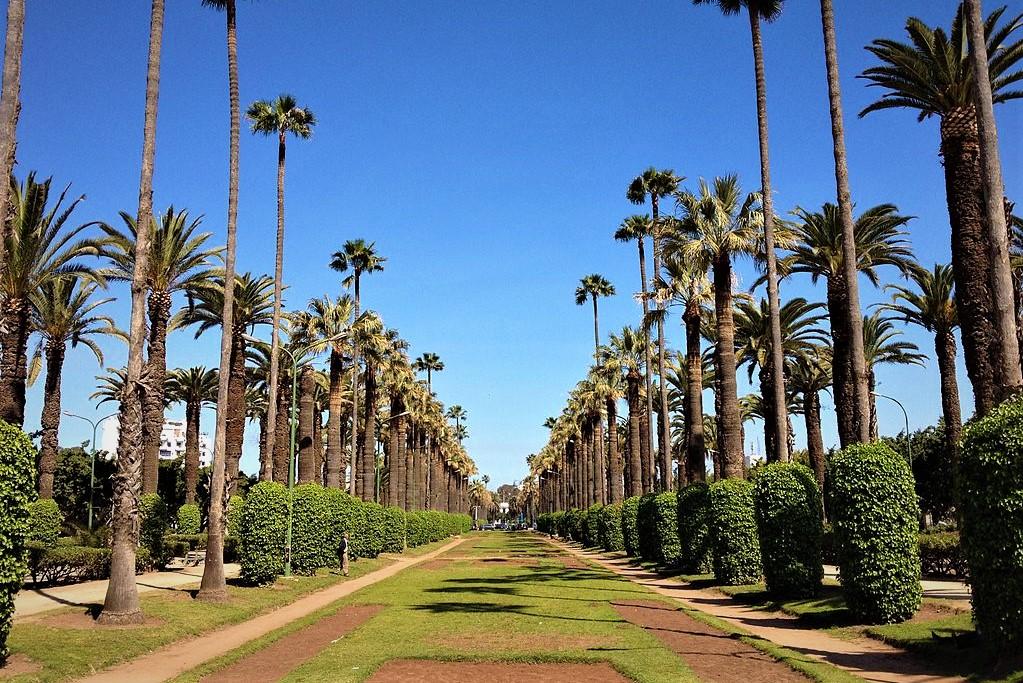 Parc de la Ligue Arab Casablanca morocco