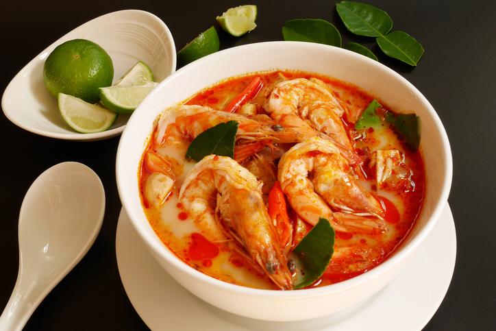 tom yum goong - best street food in Bangkok, Soups
