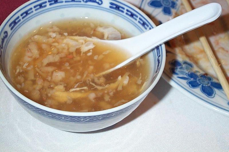 Bird's nest soup - best street food in Bangkok