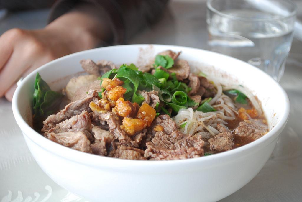 Thai boat noodles - best street food in Bangkok