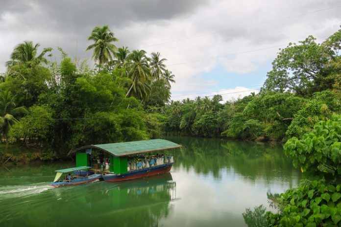 Dinner Cruise Boat on the Loboc River - Bohol, Philippines