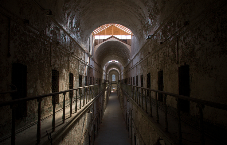Eastern State Penitentiary (ESP), Pennsylvania,USA - Halloween in USA, most haunted places in the world