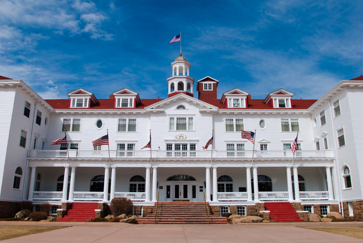 Stanley Hotel, Estes Park, Colorado, most haunted places in the world