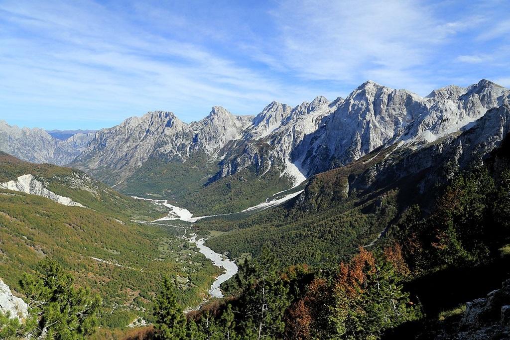 Accursed Mountains, Valbona, Albania