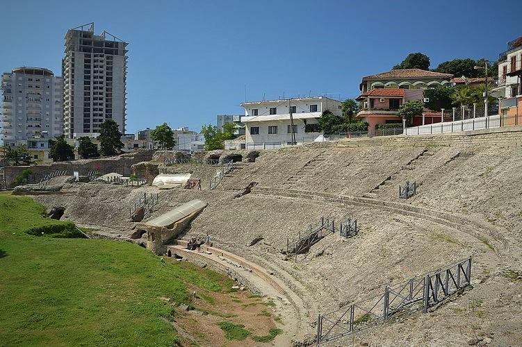Amphitheatre of Durrës Albania