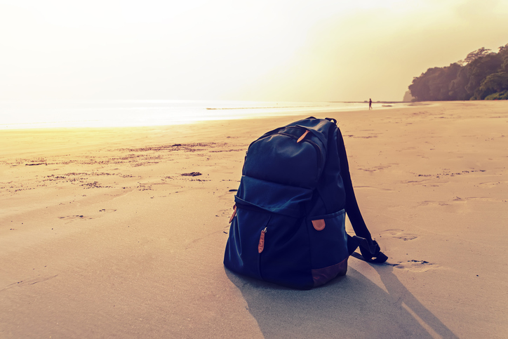 Travel Backpack for beaches