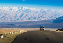 Leh in Ladakh the far Norther part of India Ladkah travel guide