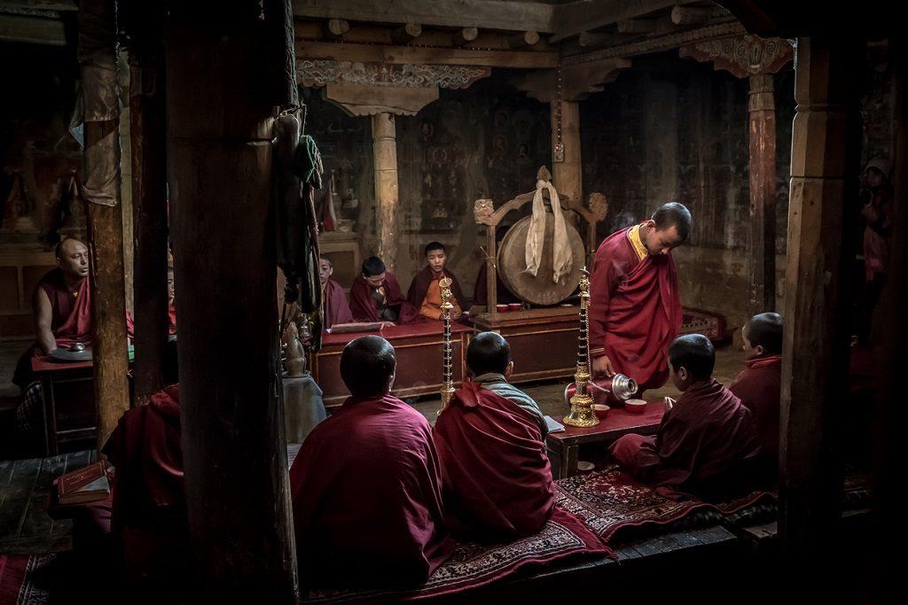 ladakh travel guide Buddhist monks monastery