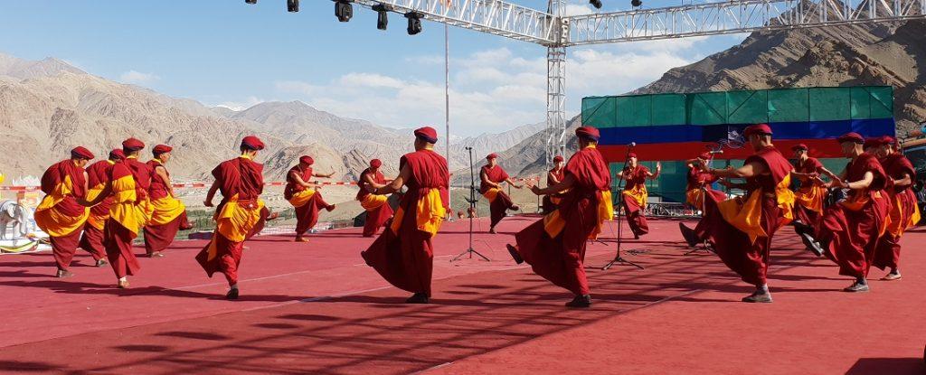 Performance by Kung-fu Nuns Naropa Festival