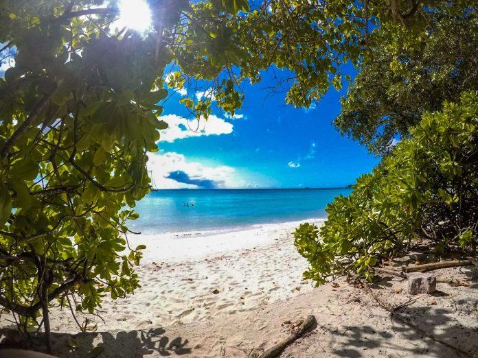 Beau Vallon beach, Seychelles