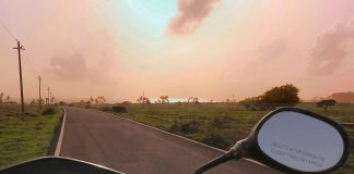 Road to Cabo De Rama Fort, Goa - road trip in Goa