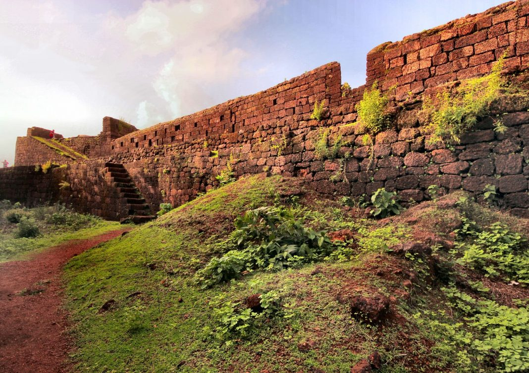 Ruins of Cabo De Rama Fort Goa, Things to do Goa, Heritage sites