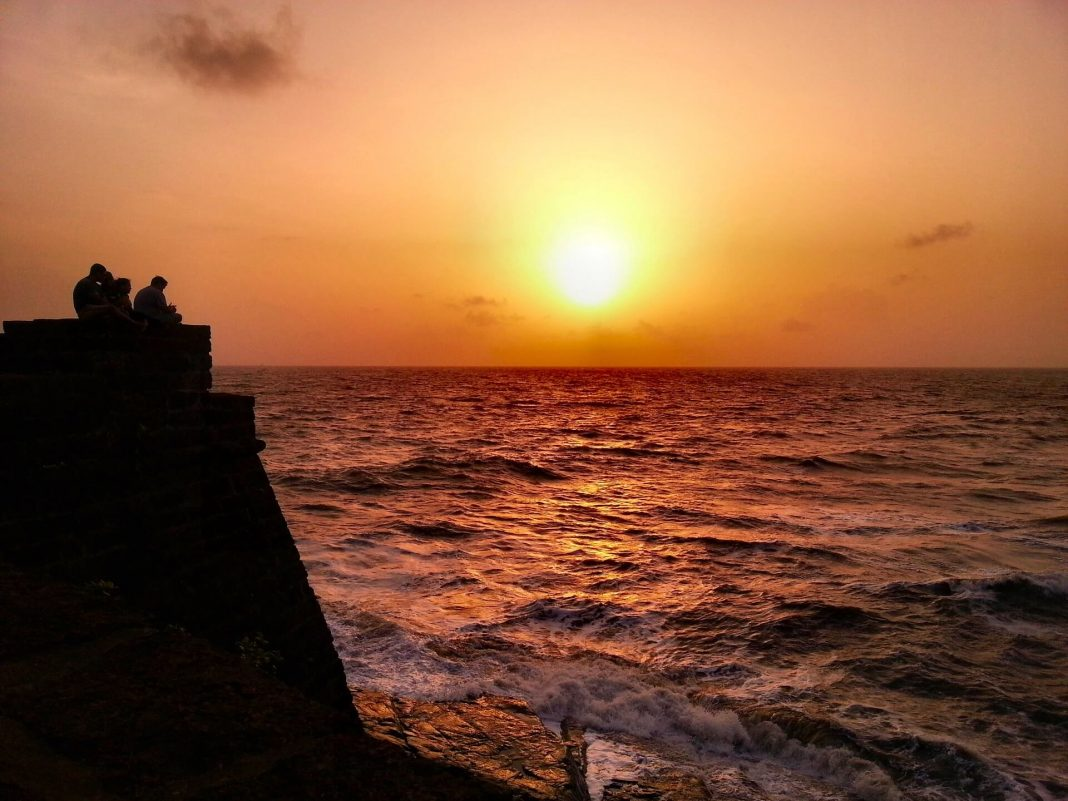 Sunset from Fort Aguada, , Candolim Beach,South Goa, Things to Do In Goa, heritage sites in goa
