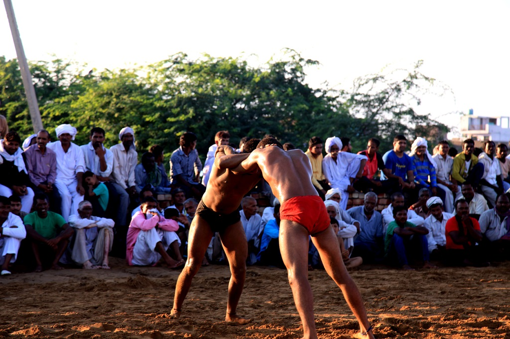 Kushti Fight known as wrestling is one of the offbeat things to see in Bangalore
