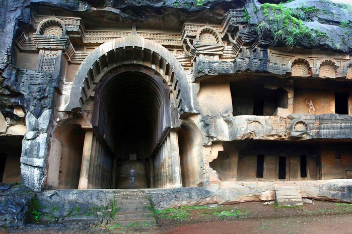 Bhaja Caves Kamshet Mumbai weekend getaway