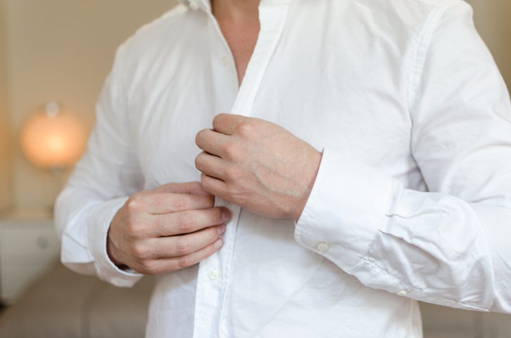 One button cuffs for shirts - Travel outfits for men