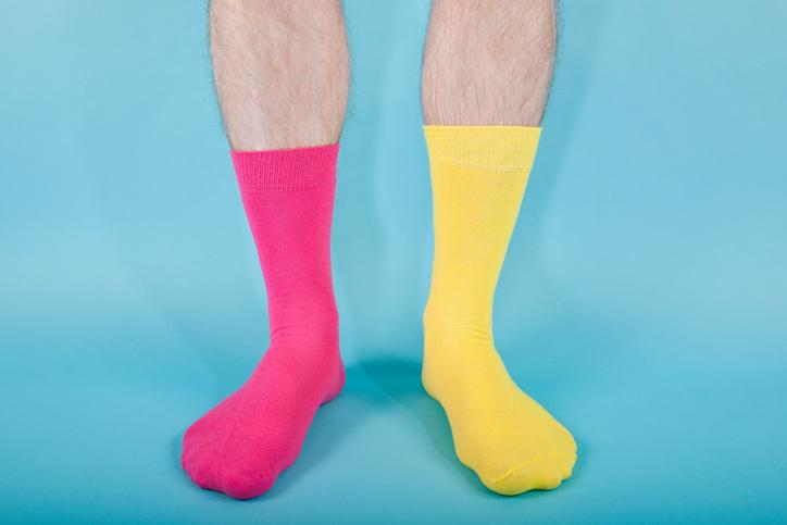Mid calf length socks - Travel outfits for men