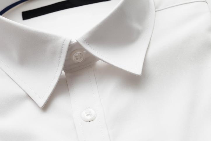 a plain white shirt - men's business travel wardrobe
