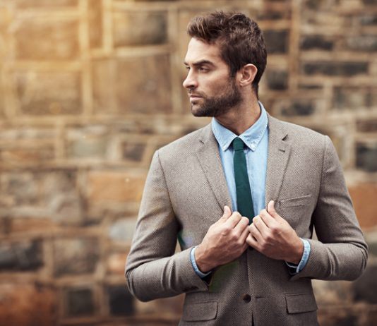 Men's business travel wardrobe