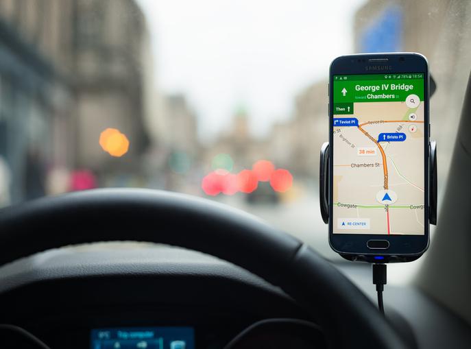 Google's Maps navigation software