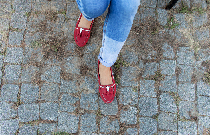 Types of shoes for women, loafers