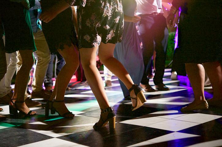 Block heels for women