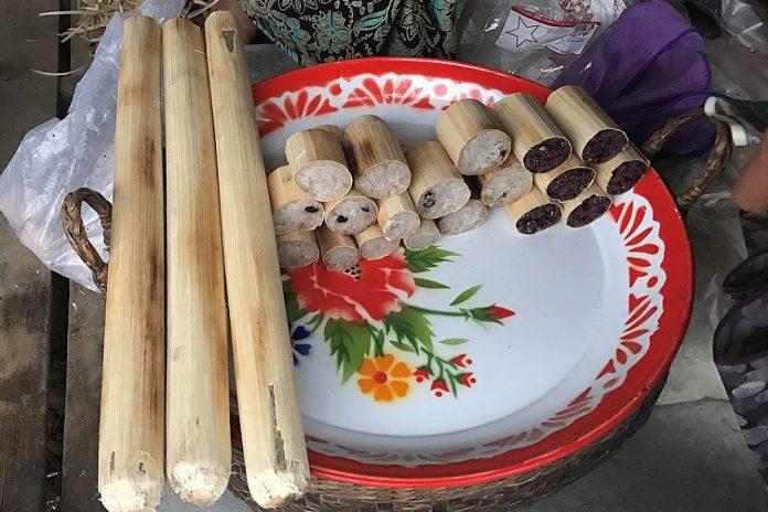 bamboo sticky rice Thailand Cambodia