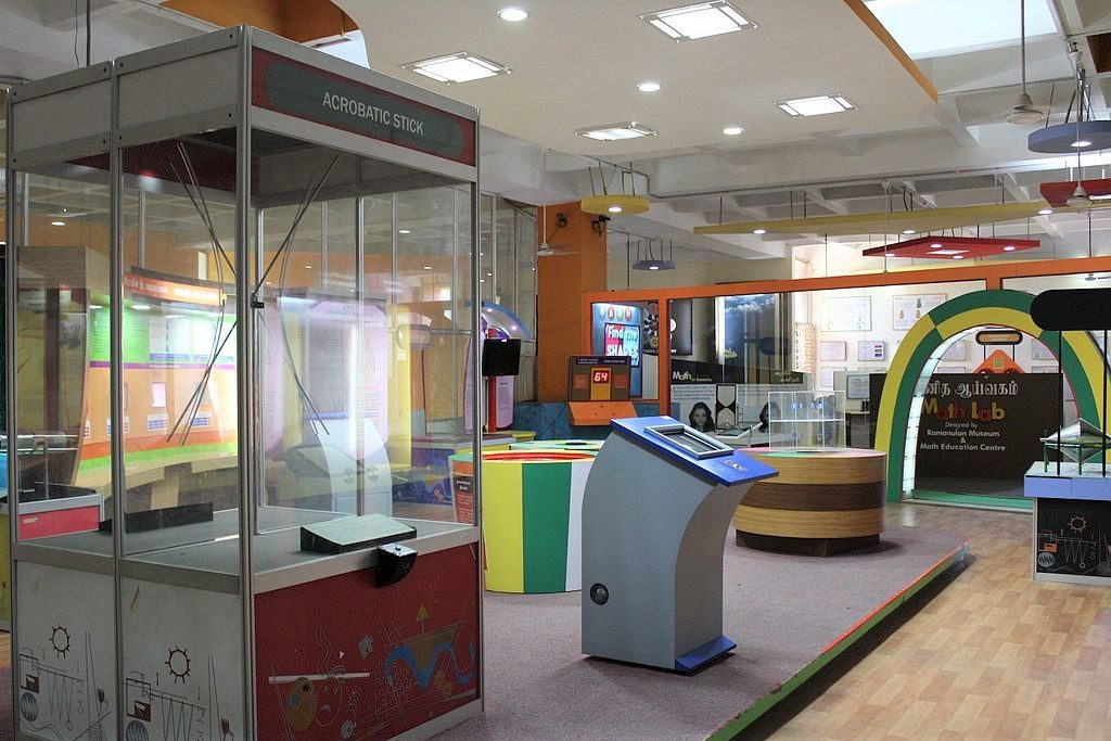 Birla-Planetarium places to see in Chennai