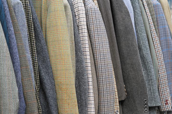 Cashmere work jackets