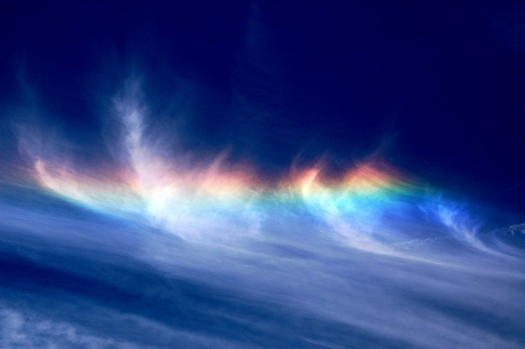 Circumhorizontal Arc Natural Phenomena