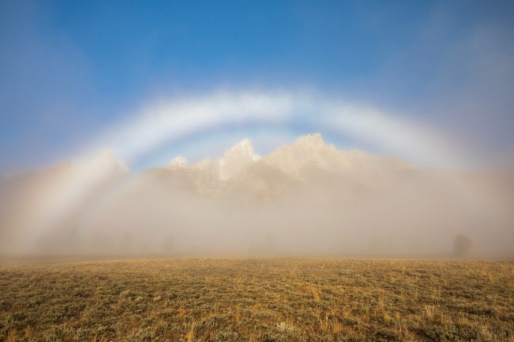 Fogbow in the Tetons