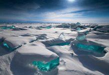 Lake Baikal Turquoise Ice