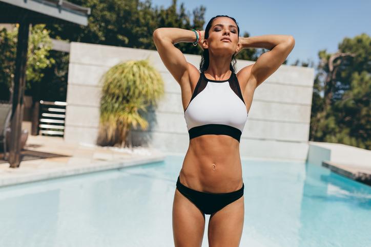 sport top women's bathing suits