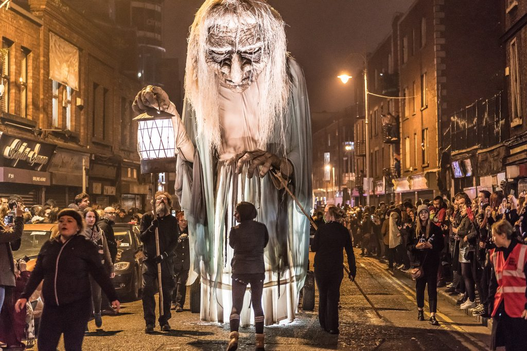Celebrate halloween in Dublin
