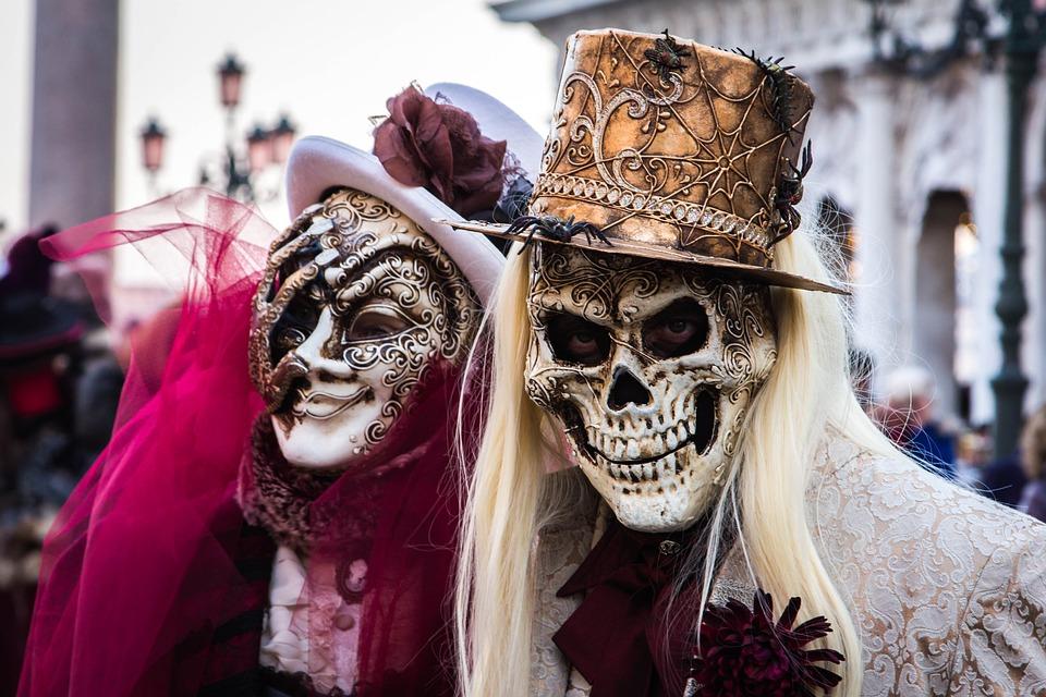 Venice Carnevale Celebrate Halloween