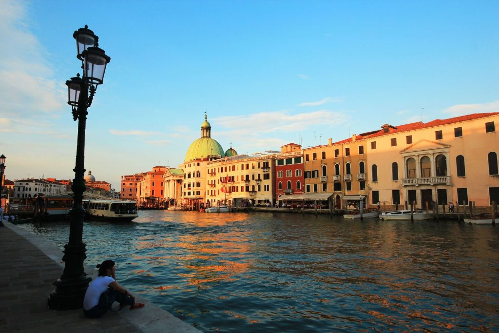 Grand Canal Venice - Venice on a budget