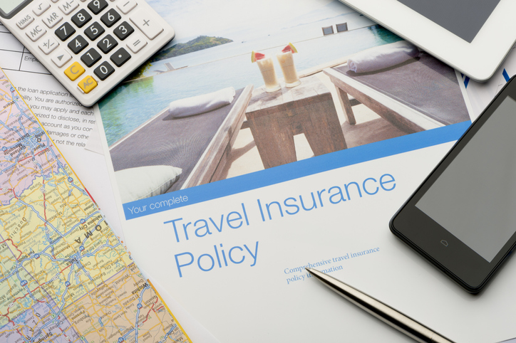 Travel Insurance Policy papers