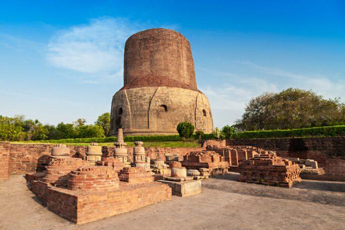 Dhamekh Stupa at Sarnath