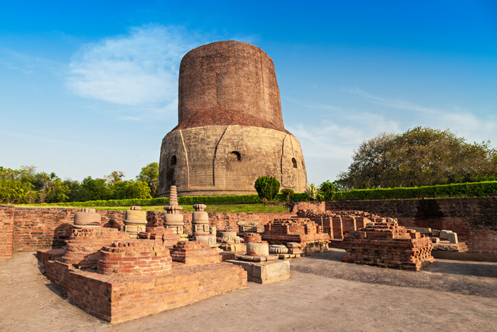 Dhamekh Stupa at Sarnath