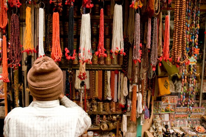 Various types of beads in the market