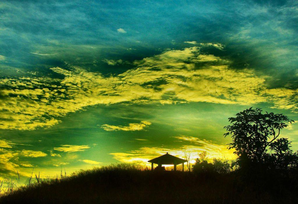 Landscape of Eco Park, Cherrapunji