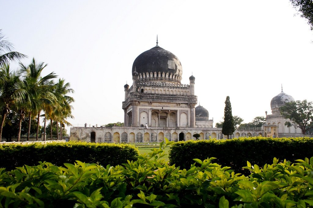 Beautiful Qutb Shahi Tombs in Hyderabad, India