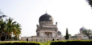 Beautiful Qutb Shahi Tombs in Hyderabad, India