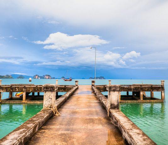 Silent paradise on Ko Yao Noi, island in the middle of Phang Nga Bay
