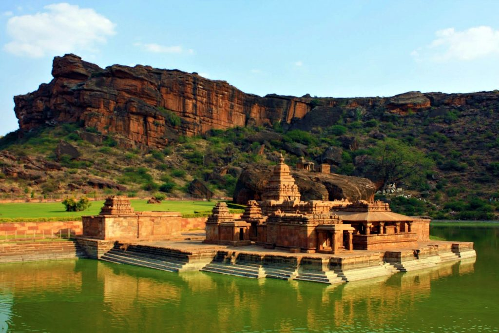 temple in Badami, road trips from Hyderabad